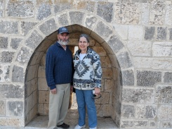 Doug & Karen on the Temple Mount